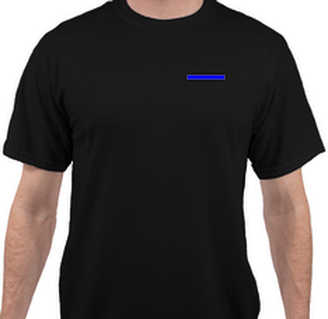 Sheep Dog - To Protect and Serve T-Shirt Front View