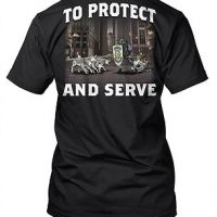 Sheep Dog - To Protect and Serve T-Shirt