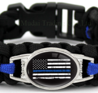 Thin Blue line Bracelet flag